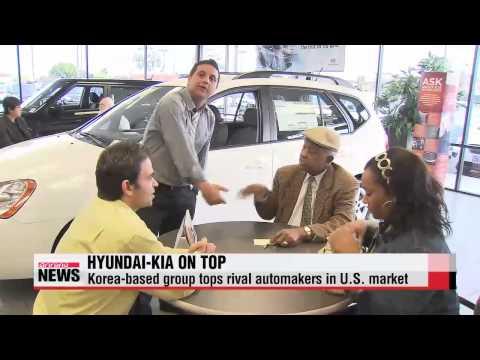 Hyundai-Kia tops rival automakers in U.S.
