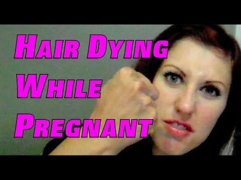 Hair dying while pregnant youtube hair dying while pregnant pmusecretfo Images