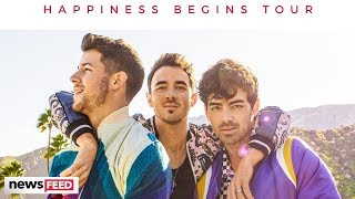 Jonas Brothers ANNOUNCE First Tour Since 2013!