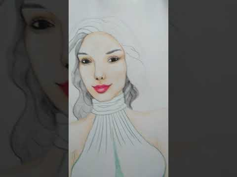 How to draw Gal Gadot