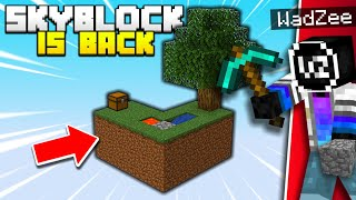 Minecraft Skyblock is BACK!
