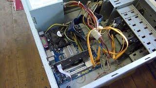Мой первый комп которому уже больше 13 лет или топовый пк 2007 года