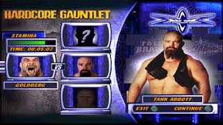 WCW Backstage Assault PSX - Hardcore Gauntlet - Goldberg (1080p/60fps)