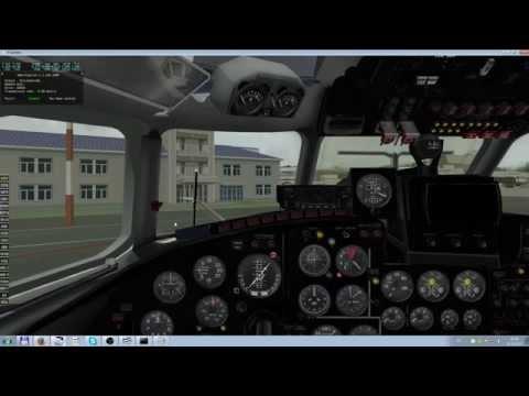 X-Plane, Ан- 24. Сочи - Краснодар. Полёт экипажем