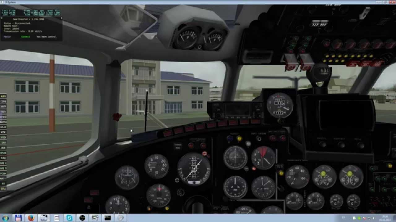 X-Plane, Ан- 24. Сочи - Краснодар. Полёт экипажем - YouTube