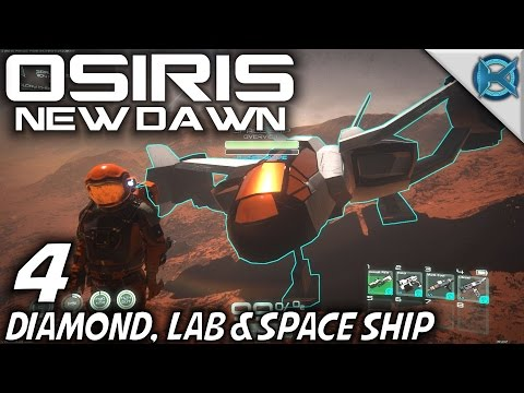 "Osiris New Dawn -Ep. 4- ""Diamond Laboratory & Space Ship"" -Let"