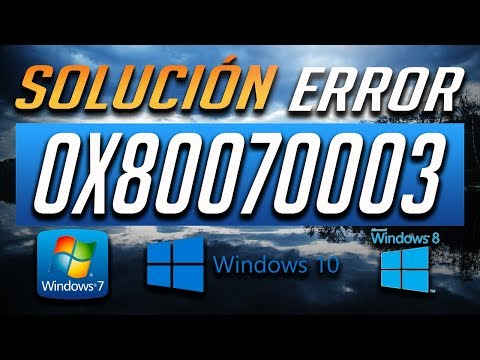 How to Fix Error Code 80070003 or 80070002 on Windows 10 by