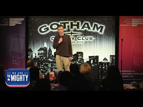 This Marine and his service dog have a hilarious standup routine | ASAP Gotham Comedy Club Show