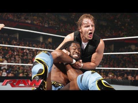Kofi Kingston vs. Dean Ambrose - United States Championship Match: Raw, May 27, 2013