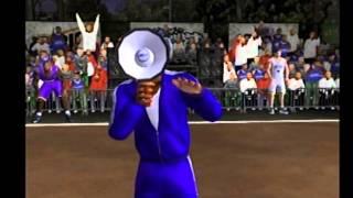NBA Street Gameplay (PS2)