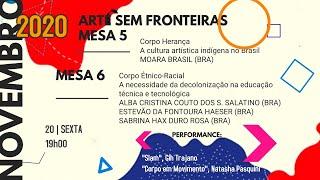 Arte Sem Fronteiras Bienal Black - Mesas 5 e 6