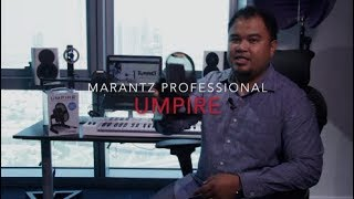 Marantz Professional UMPIRE - Product Overview