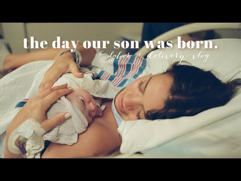 LABOR U0026 DELIVERY VLOG | Our Baby Boy Is Here!