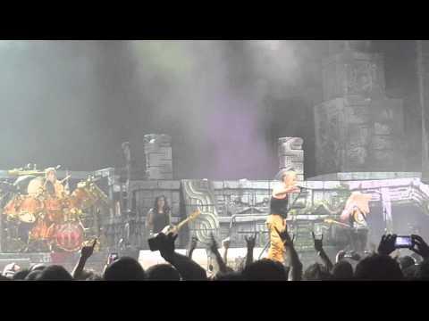Iron maiden 2016 tour ft. Lauderdale