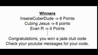 Jade Club Code Contest Winners