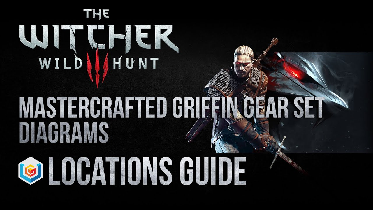 The Witcher 3 Wild Hunt Mastercrafted Griffin School Gear
