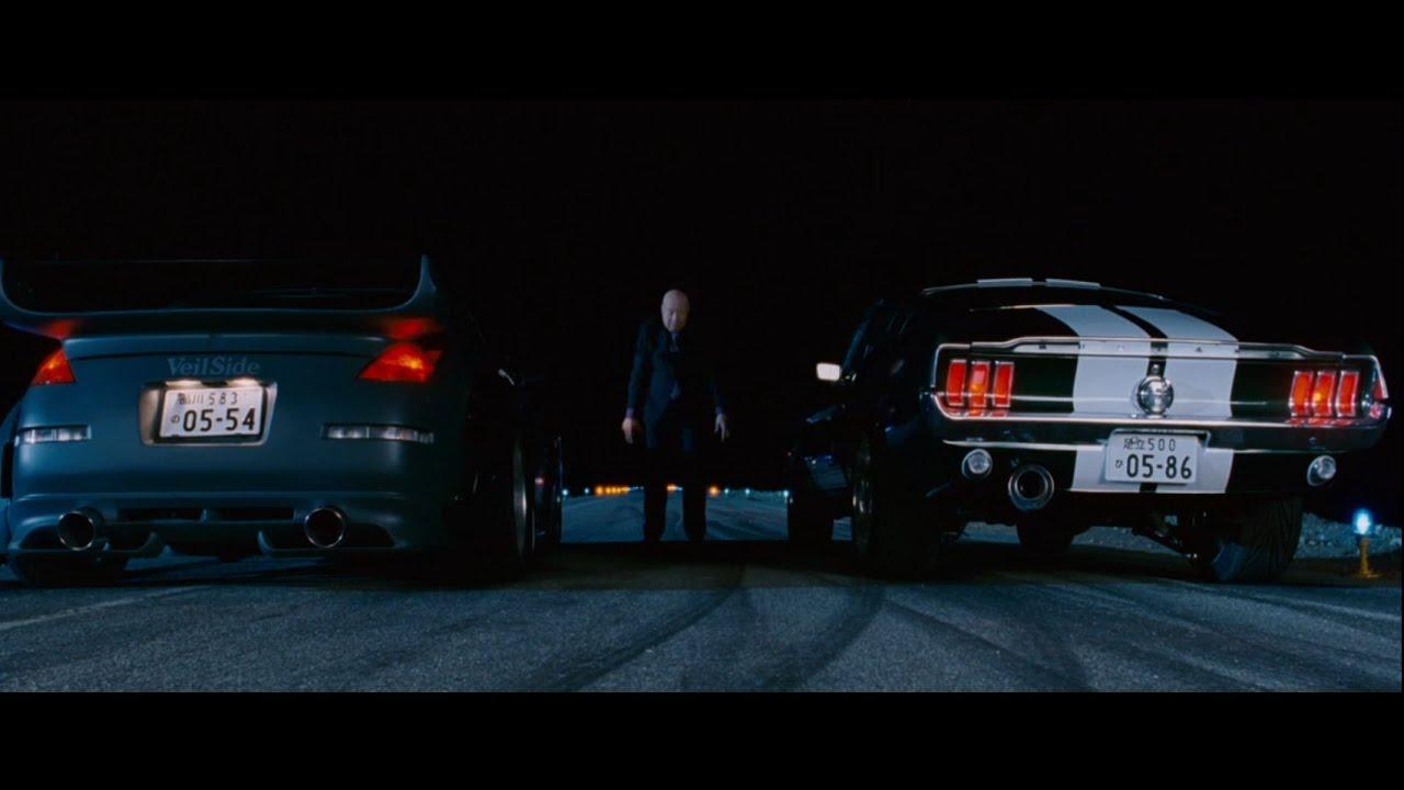 Tokyo Drift Mustang >> Fast Furious Tokyo Drift - Mustang VS 350z - YouTube