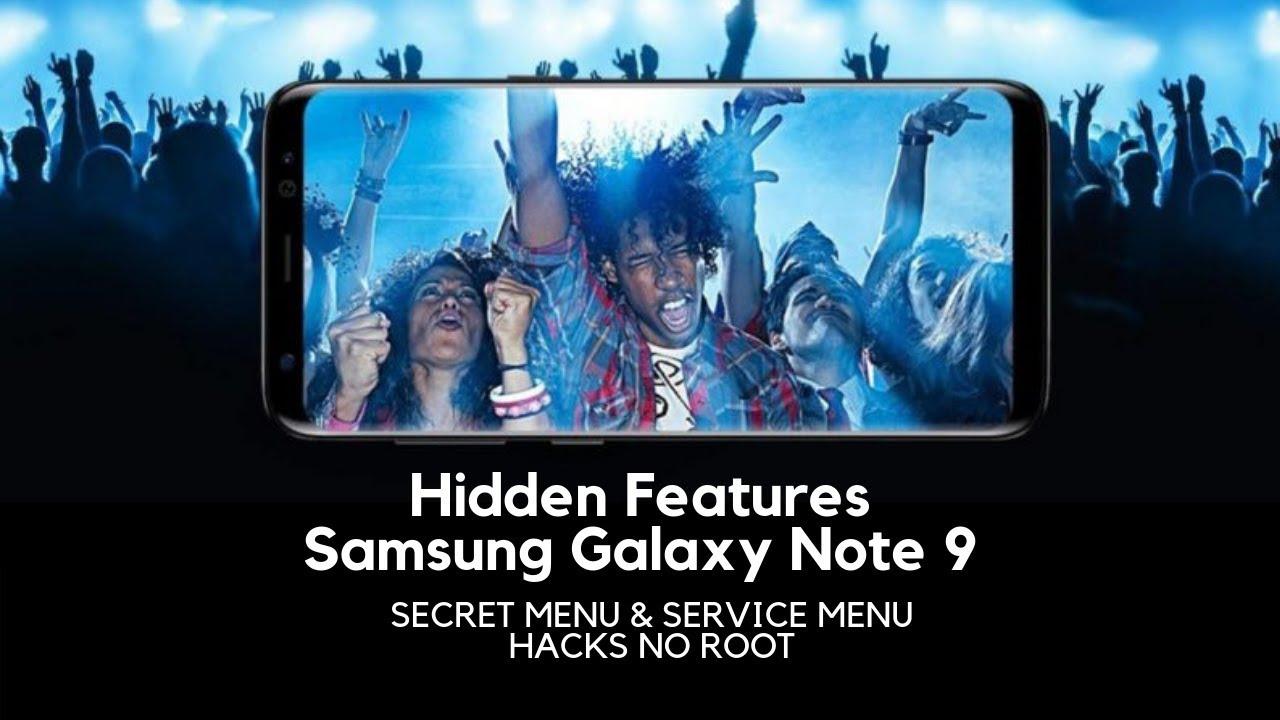 Samsung Galaxy Note 9 Secret Codes, Hidden Features, HACKS!