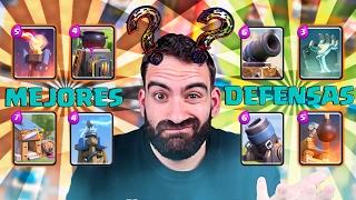 LOS MEJORES EDIFICIOS PARA DEFENDER EN CLASH ROYALE !! | Navalha - Freestyle Royale