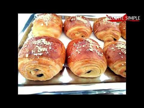 Petit pain au chocolat marocain