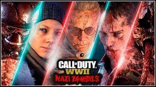 Call of Duty WWII Zombies - La Película 🌟 (Todas las Cinemáticas, Easter Egg, Historia...) [Español]