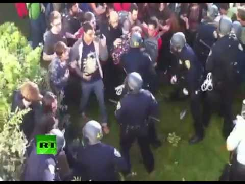Occupy Cal video: Police brutally beat, arrest Berkeley students