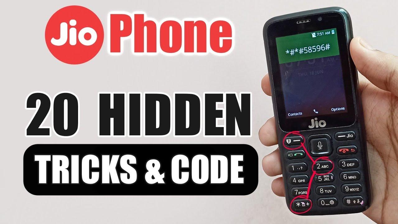 Download Jio Phone Hidden Features, Setting, Code & Tricks in Hindi