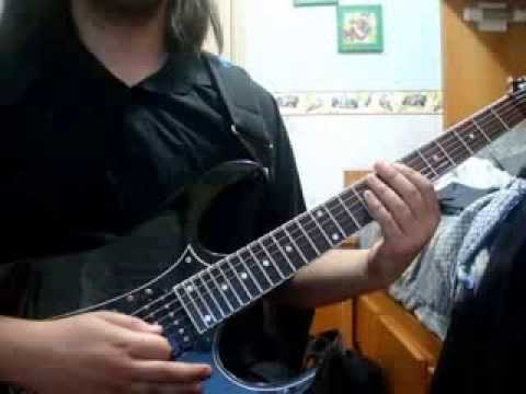 Picturing The Past - Sonata Arctica (Guitar Cover)
