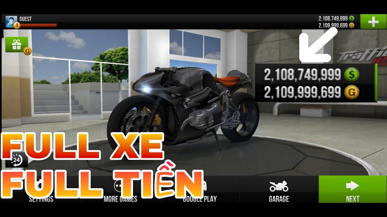 Hack game đua xe Traffic Rider dễ làm nhất