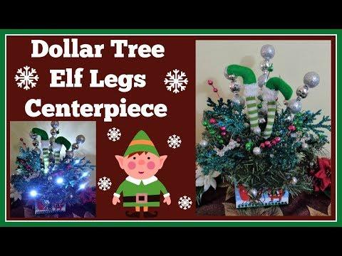Dollar Tree Elf Centerpiece Diy