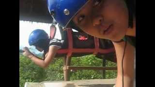 extreme challenge no 2 zipline danao adventure park
