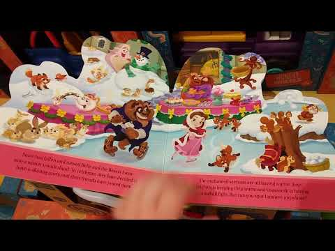Disney Princess Party Book Review (Please pause if you want to read the storybook in my dreams)