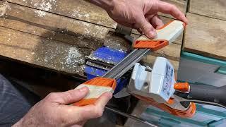 How To Sharpen your STIHL GTA 26 Garden Pruner