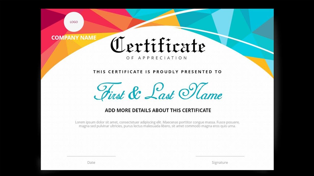 powerpoint certificate university