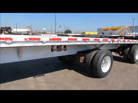 Used 48' Aluminum FLATBED Trailers For Sale in Houston Tx |Porter Truck Sales Texas