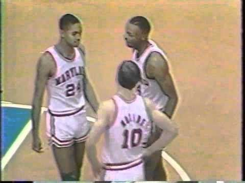 Len Bias vs David Robinson NCAA 1985 Maryland vs Navy