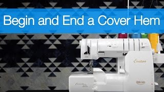 Coverhem sewing on a Serger