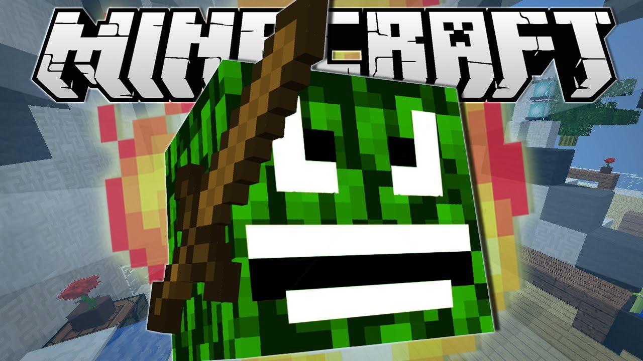 Minecraft Angry Leaf Block Hide N Seek Minigame Youtube