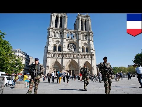 France terror plot: police thwart 'church attack' after man shoots himself in foot - literally