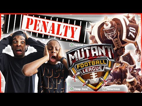 FOOTBALL WITH CHAINSAWS IS BACK! - Mutant Football League Gameplay
