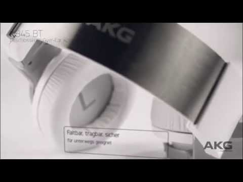 akg k845bt bluetooth over ear kopfh rer mit nfc youtube. Black Bedroom Furniture Sets. Home Design Ideas