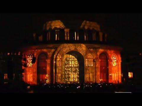 Laser Show 3D - In Yerevan Opera Building