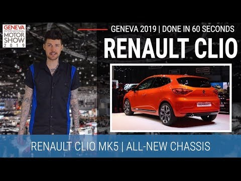 Geneva Motor Show 2019 In 60 Seconds | New Renault Clio - Interior Fit For A King...hopefully