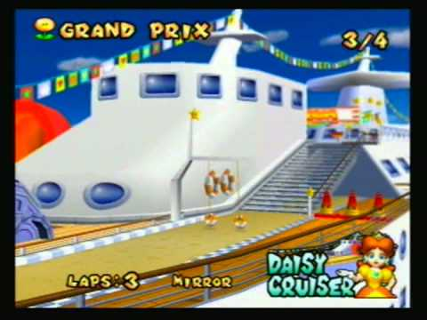 Mario Kart: Double Dash - 2003 - Mirror: Flower Cup