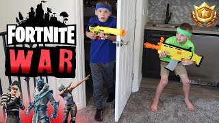 Twins Crazy Fortnite Battle Challenge
