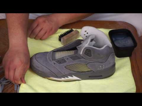 How To Clean Suede Jordan's With Reshoevn8r!!!