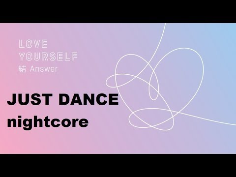 BTS (방탄소년단) - Trivia起  _ Just Dance (nightcore Version )