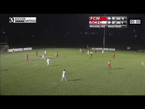 FC Wichita v. Dallas City FC  7.12.17 - Conference Semi-Final