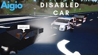 ROBLOX | Aigio ANP, Disabled Car