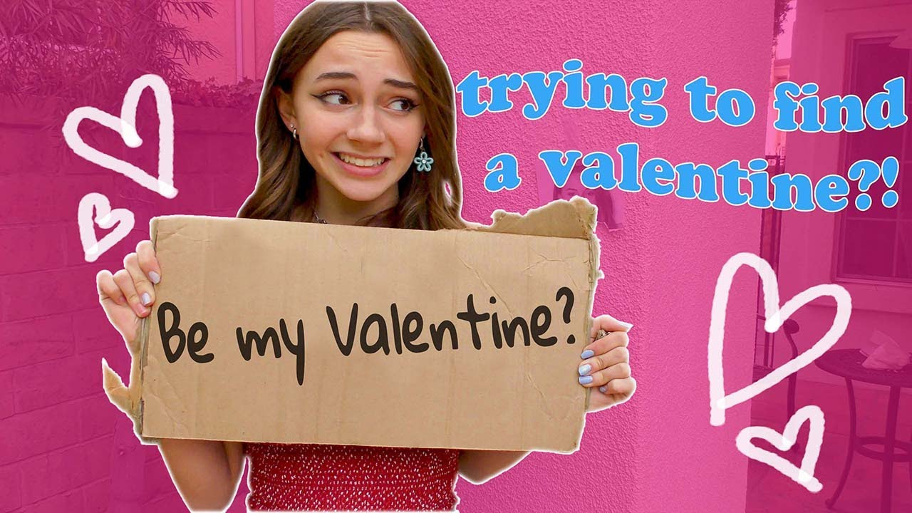 LOOKING FOR A VALENTINE'S DATE | Kayla Davis